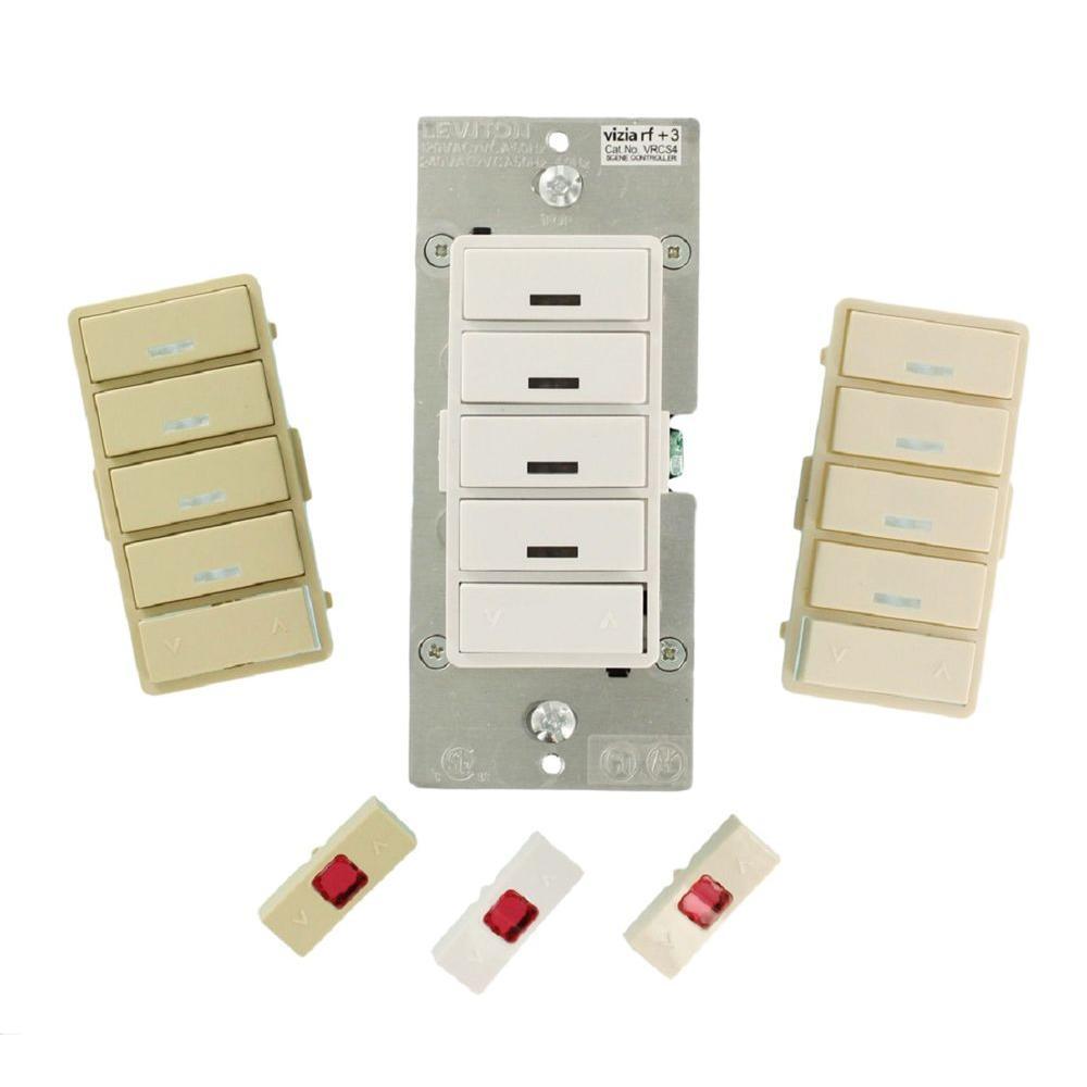 Vizia RF + 4-Button Remote Scene Controller