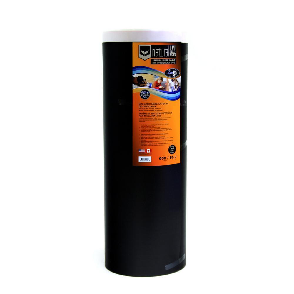 LVT SG 600 sq. ft. 39 in. x 184.6 ft. x 3/64 in. Foam Underlayment for Luxury Vinyl Tile Floor