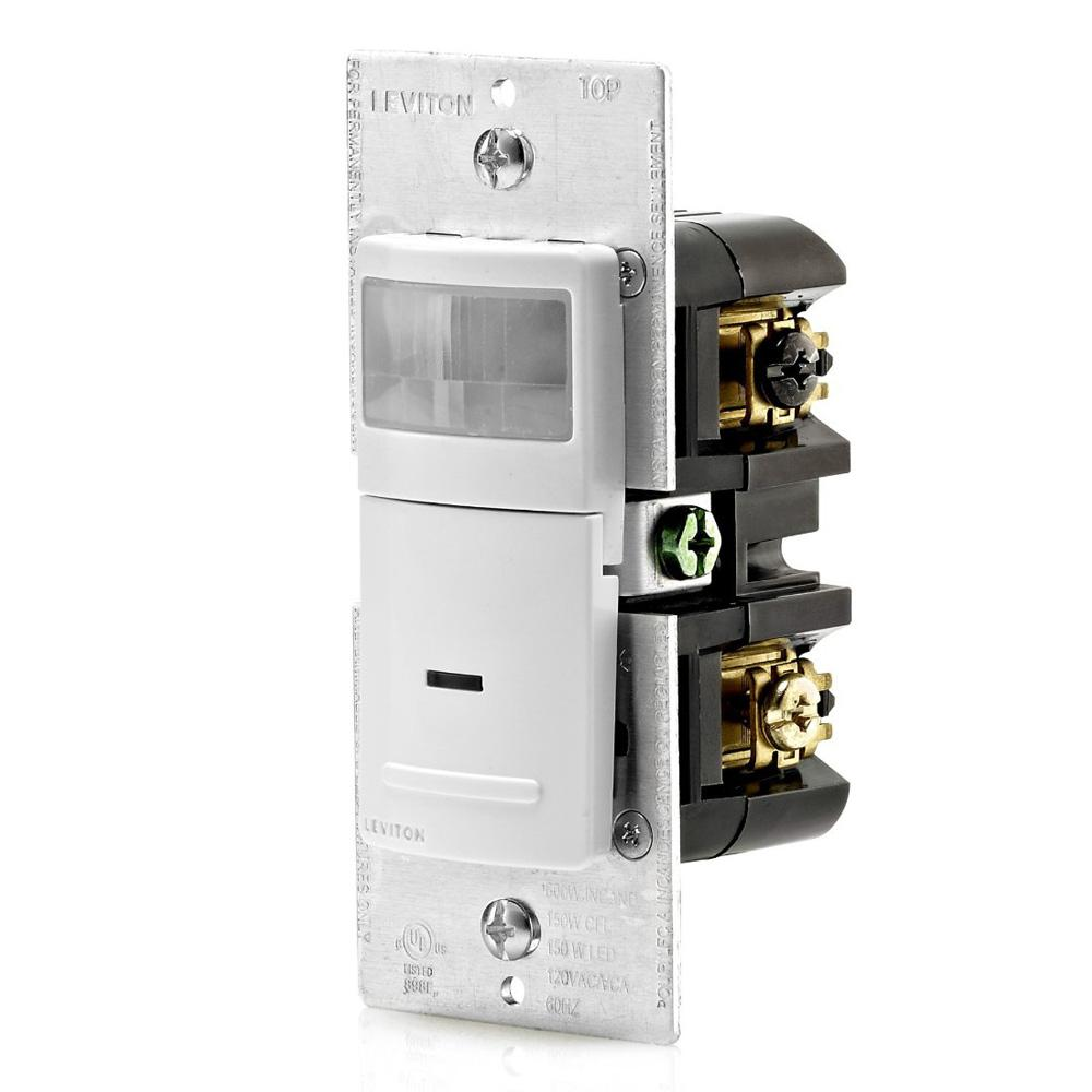 Leviton Decora 150 Watt Led 600 Inc Residential Grade Single 15 Amp 4way Switch Whiter58056042ws The Home Depot Pole 3