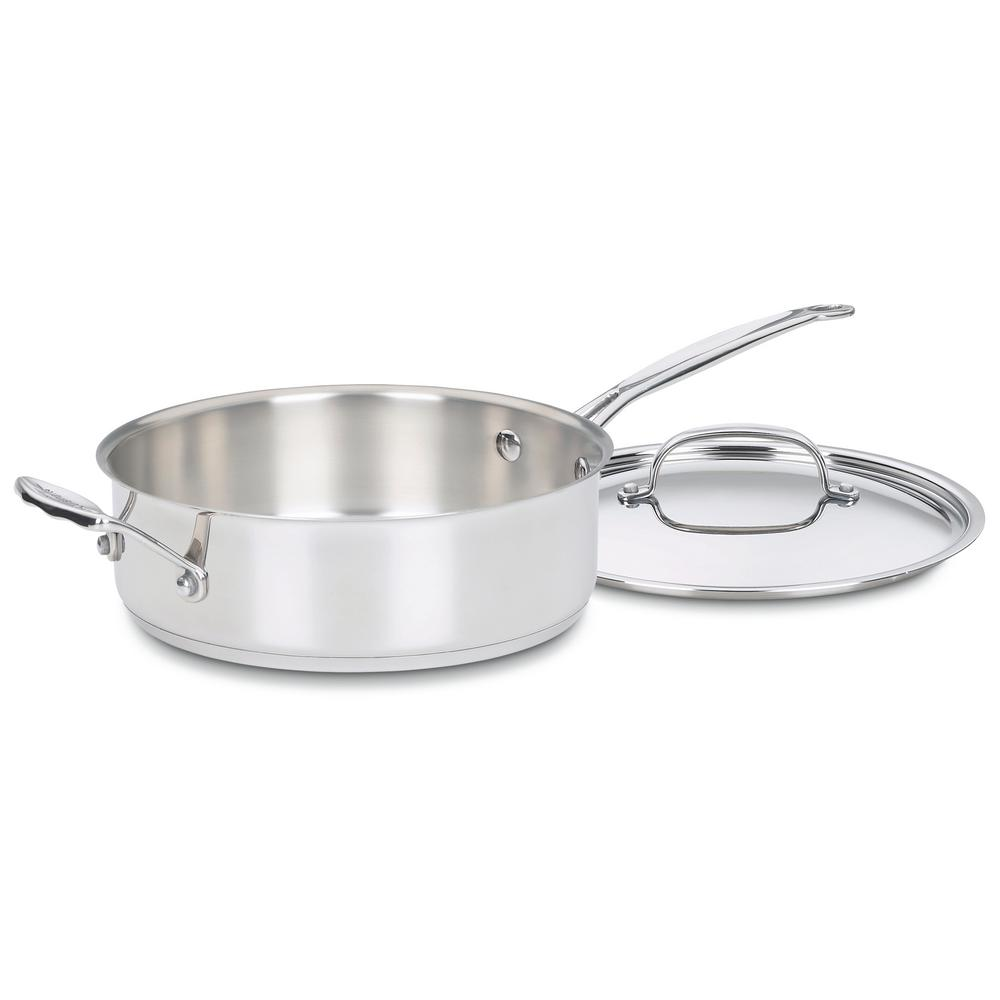 Chef's Classic 3.5 Qt. Steel Saute Pan