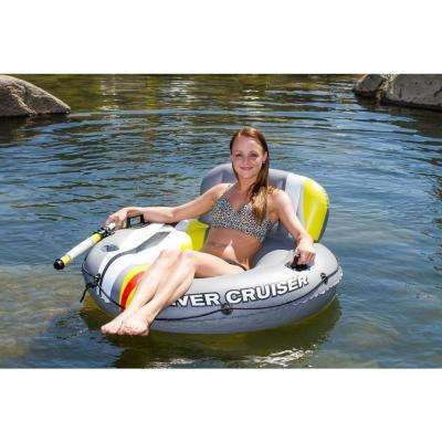 Deluxe River Cruiser Float Lounge with Launcher