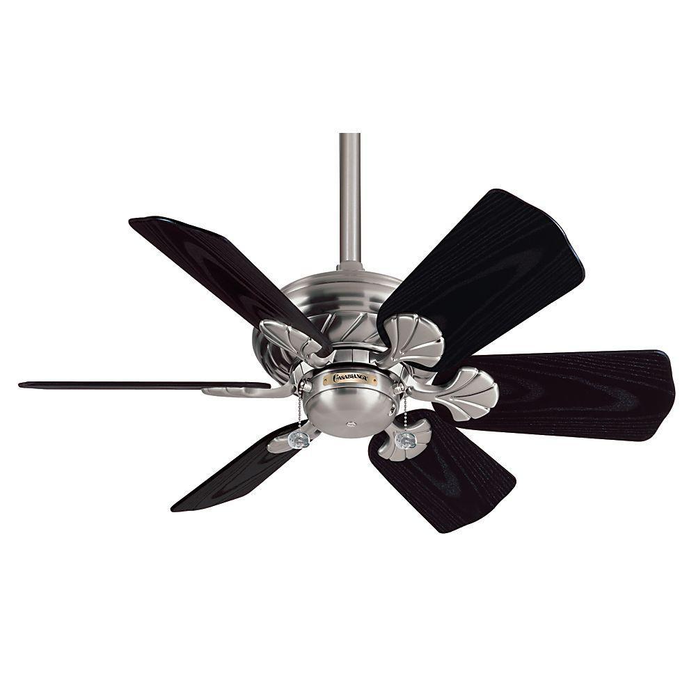 Casablanca Wailea 31 in. Indoor/Outdoor Brushed Nickel Ceiling Fan