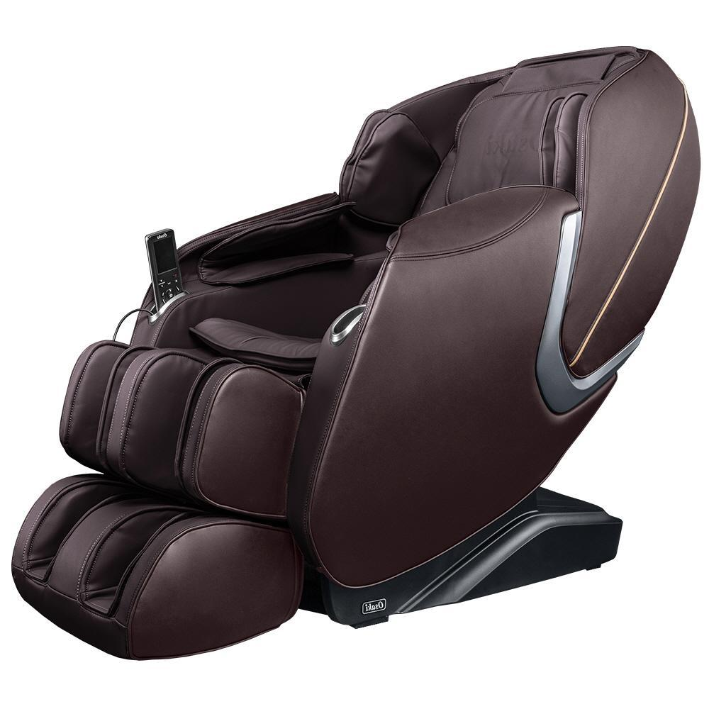 Osaki OS-Aster Brown Faux Leather Reclining Massage Chair was $2499.0 now $1449.0 (42.0% off)