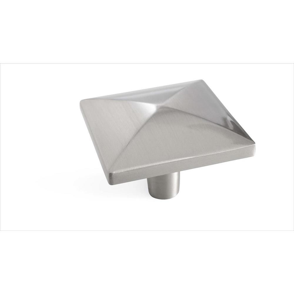 Extensity 1-1/2 in. L (38 mm) Satin Nickel Cabinet Knob