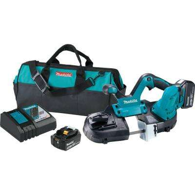 18-Volt 5.0Ah LXT Lithium-Ion Cordless Compact Band Saw Kit