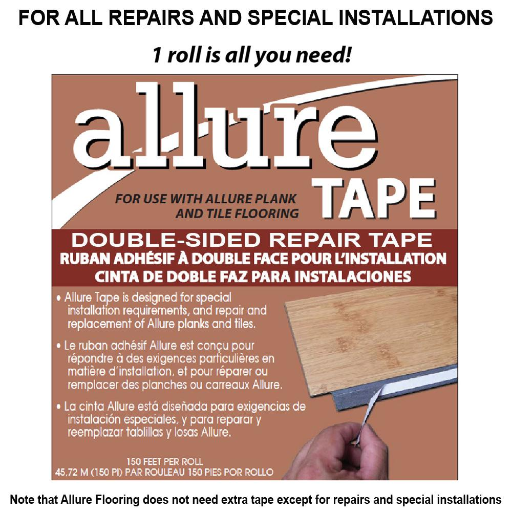 CalFlor Ft Sided Tape For Allure FlooringAL The Home Depot - Allure flooring customer service phone number