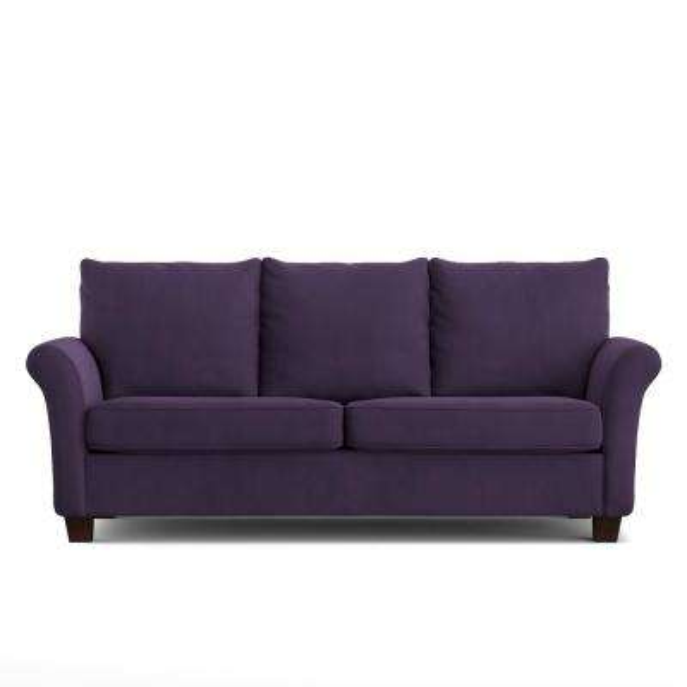 Rockford Sofast Sofa In Purple Velvet