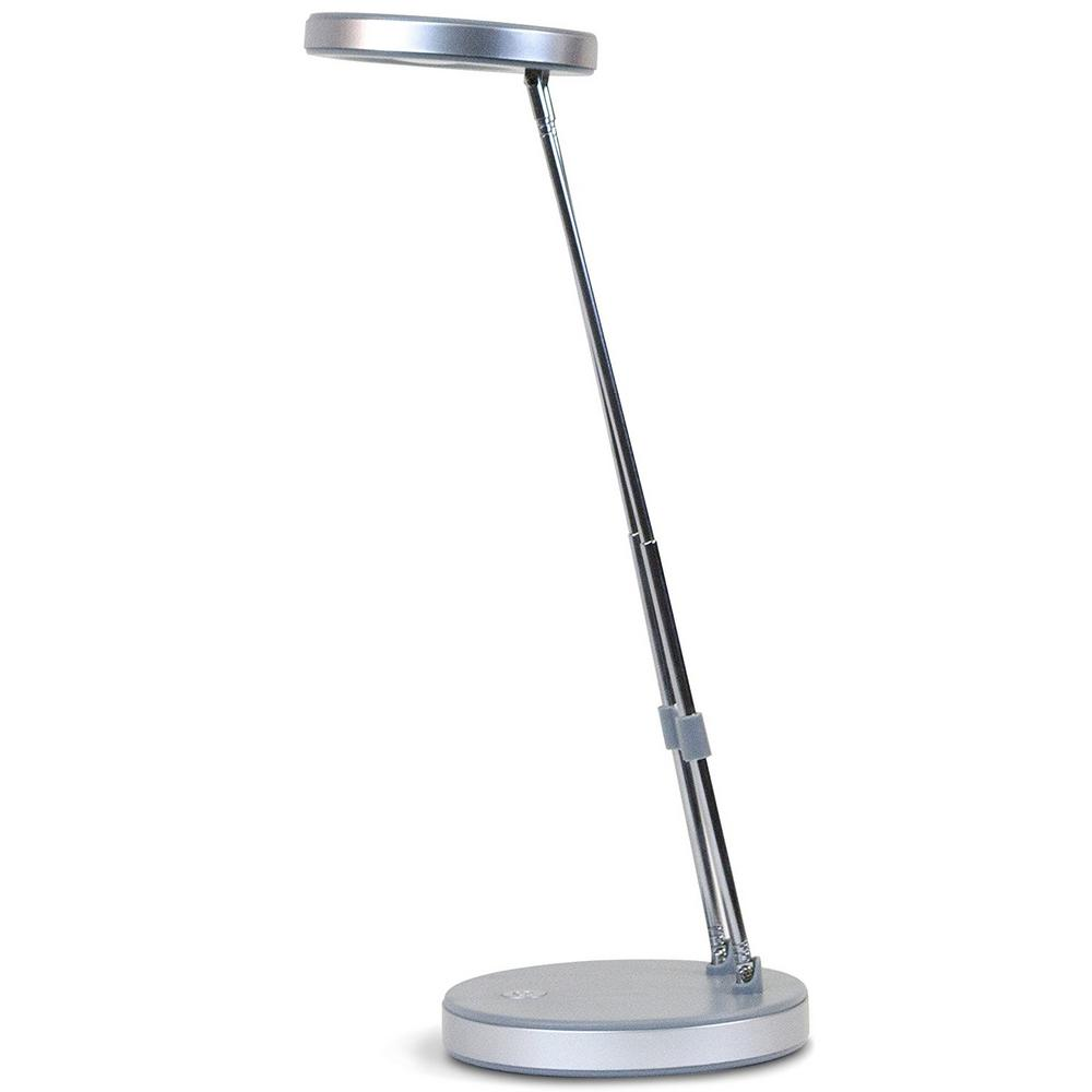 Newhouse Lighting 16 in. Grey LED Ladder Desk Lamp Light-NHLD-LED ...
