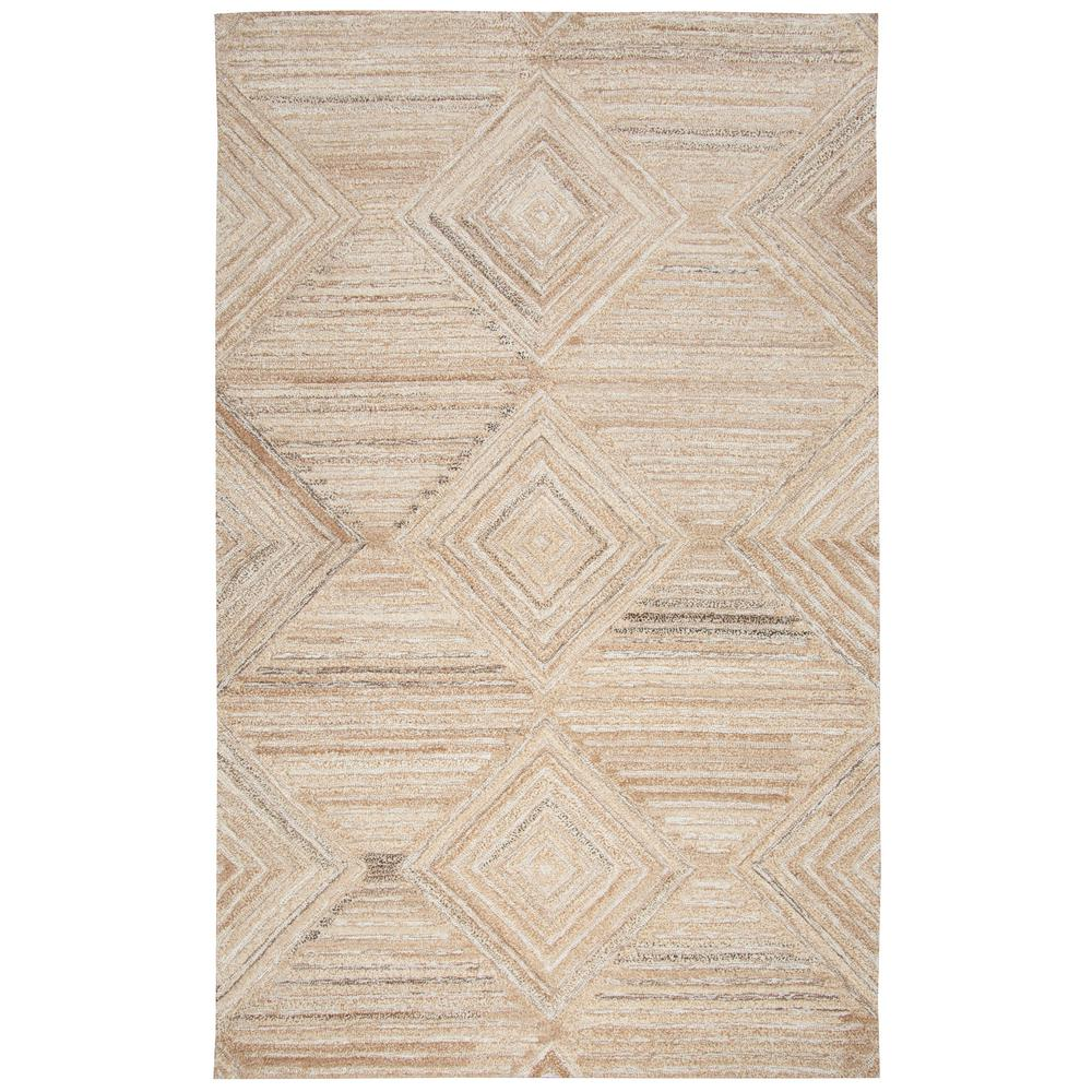 rizzy home suffolk tan solidgradient geometric 9 ft x 12 ft area