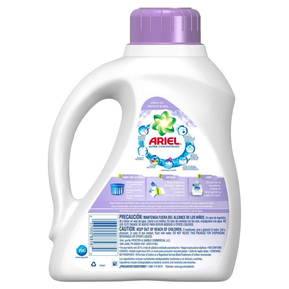 Ariel Ultra 100 oz  Liquid Laundry Detergent with Febreze (52 Loads)