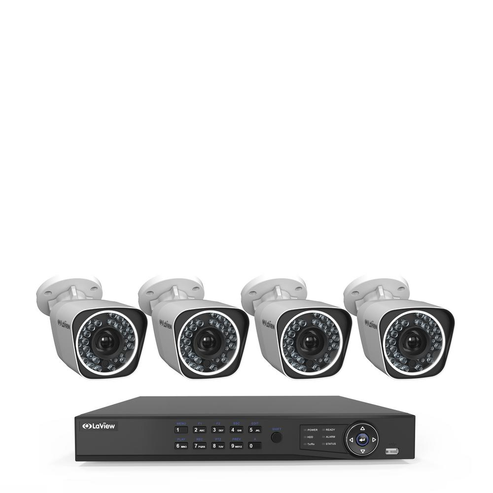 4-Channel Full HD IP Indoor/Outdoor Wi-Fi Surveillance 1TB NVR System (4)