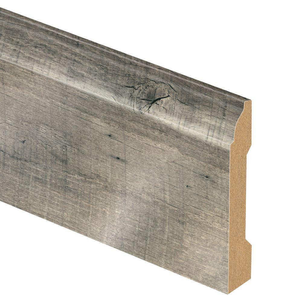 Zamma Cross Sawn Oak Grey 9 16 In Thick X 3 1 4 In Wide