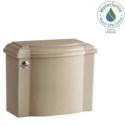 Devonshire 1.28 GPF Single Flush Toilet Tank Only in Mexican Sand