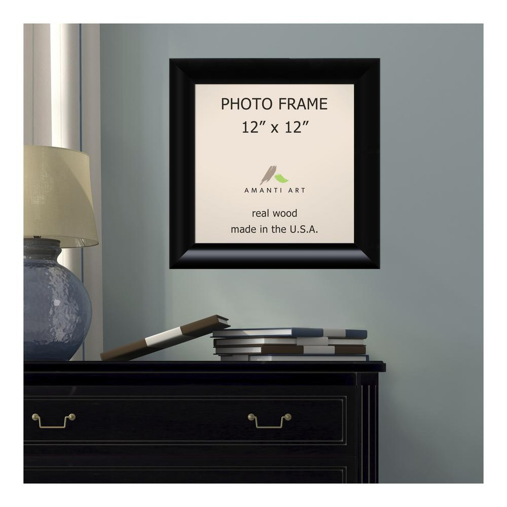 Amanti Art Steinway 12 In X 12 In Black Picture Frame Dsw1385334