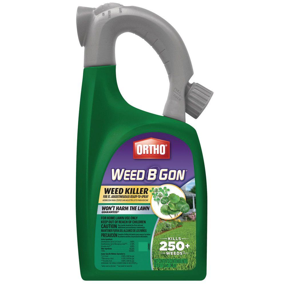 Ortho Weed B Gon 32 Oz Ready To Spray Weed Killer For St Augustine Grass 0193610pm The Home Depot