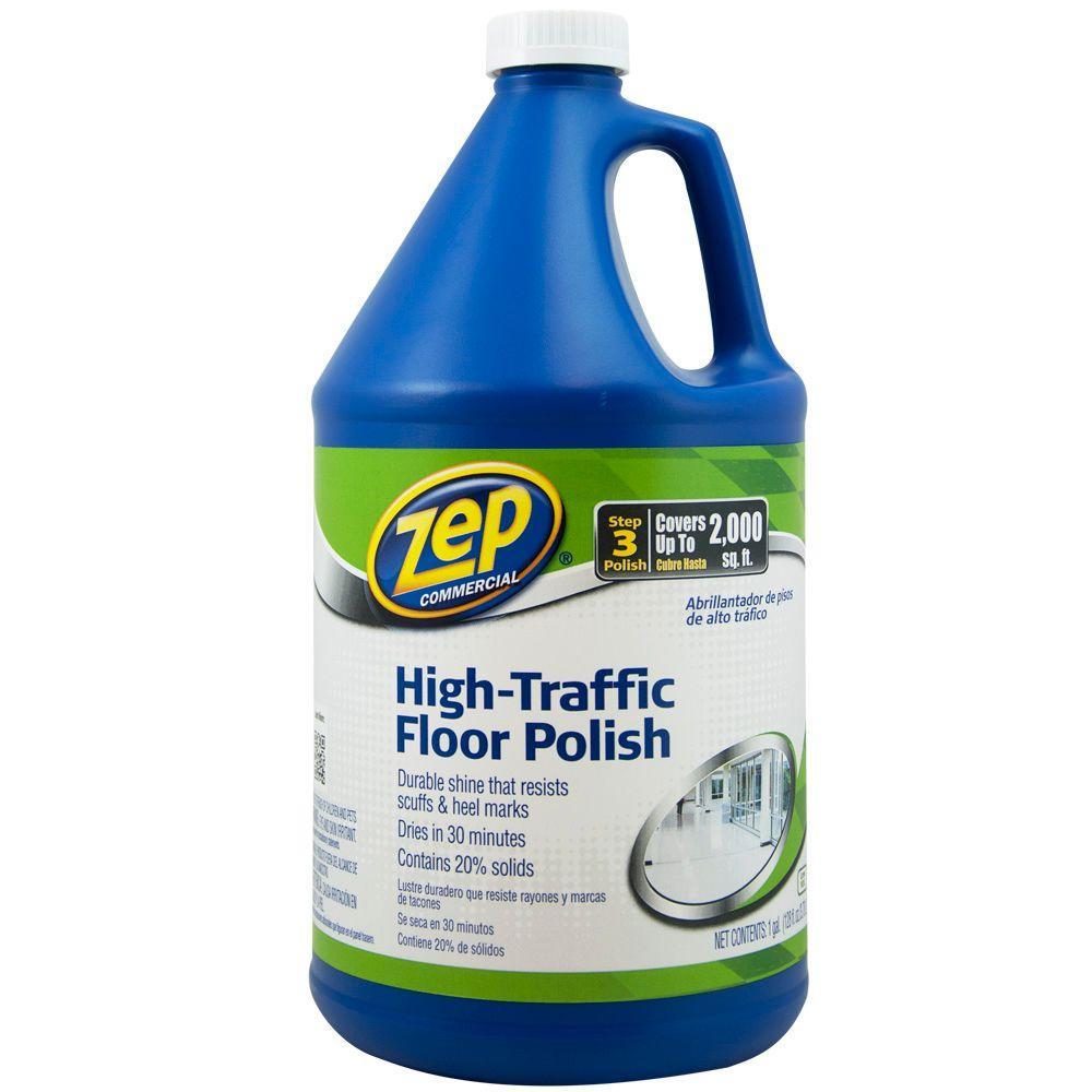 128 oz. High-Traffic Floor Polish (Case of 4)