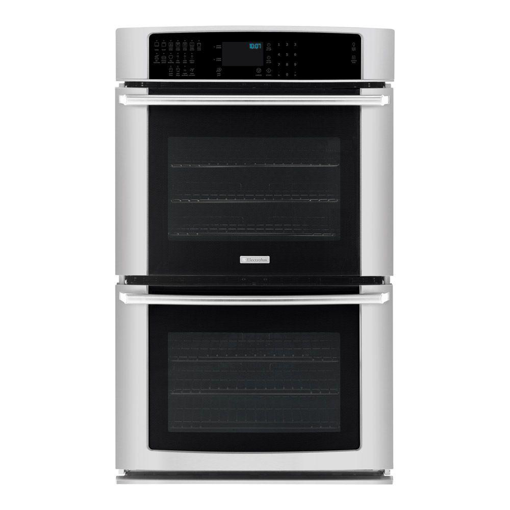 Electrolux IQ-Touch 27 in. Double Electric Wall Oven Self-Cleaning with Convection in Stainless Steel-DISCONTINUED