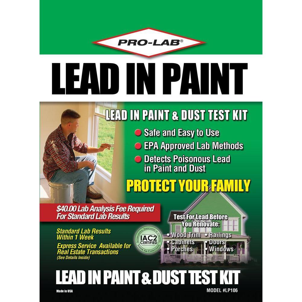 PRO-LAB Lead Paint and Dust Test Kit