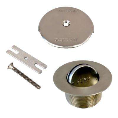 1.865 in. Overall Diameter x 11.5 Threads x 1.25 in. PresFlo Trim Kit, Brushed Nickel