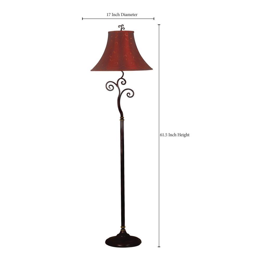 Richardson 61 In Bronze Floor Lamp
