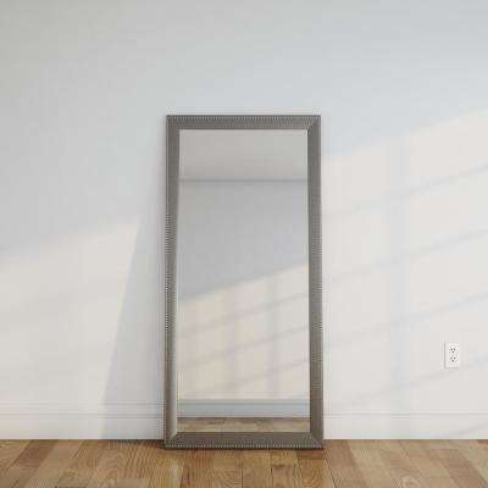 Embossed Steel Full Length Mirror