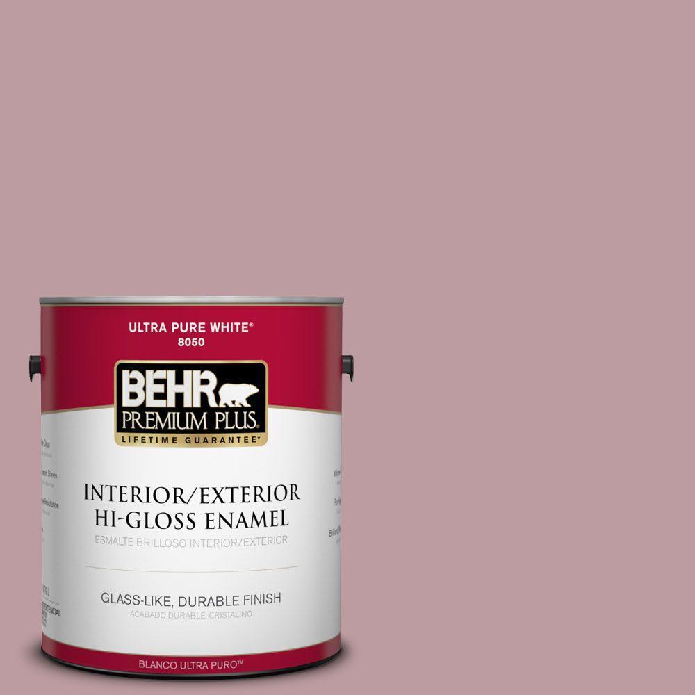 1-gal. #BIC-06 Desert Lights Hi-Gloss Enamel Interior/Exterior Paint