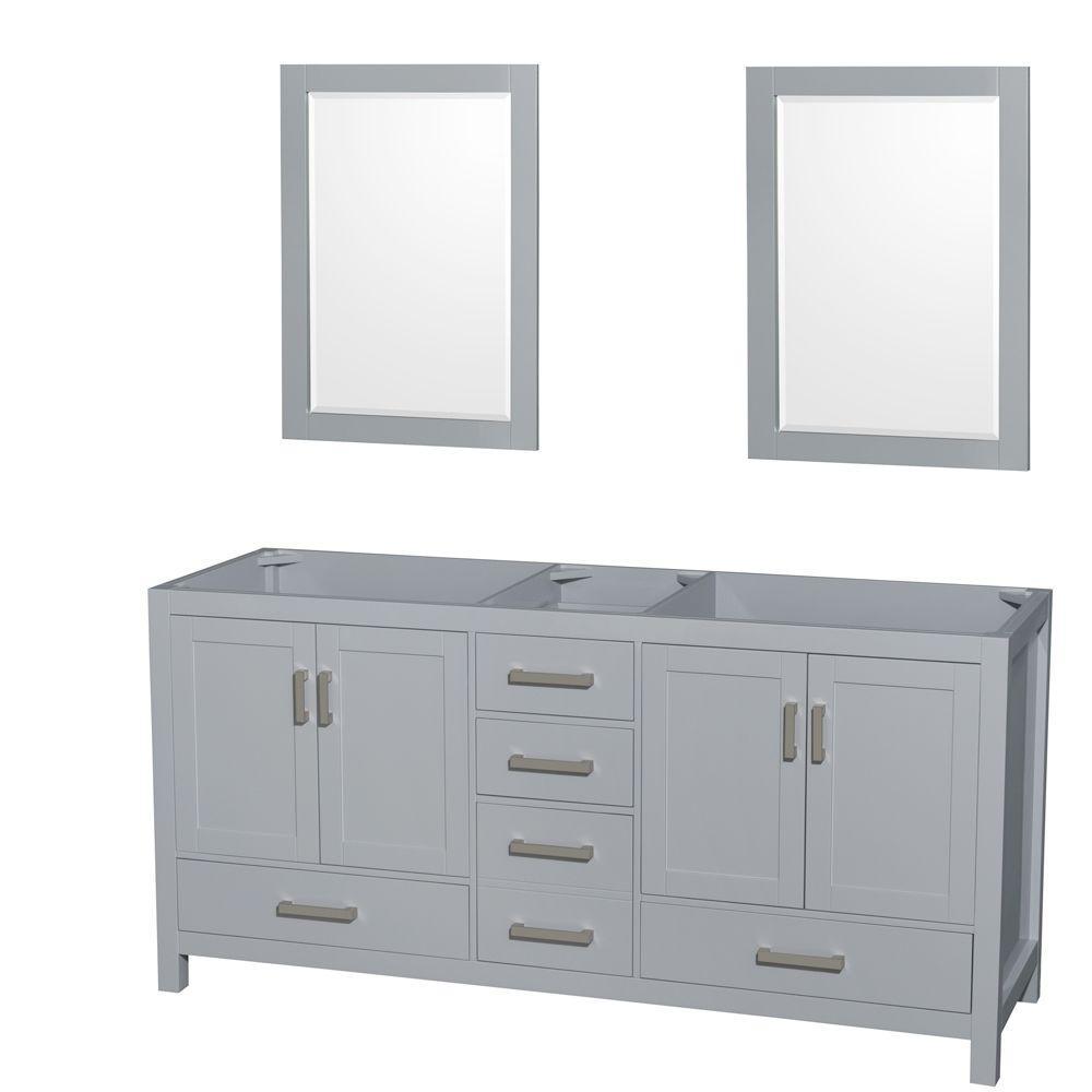 Vanity Cabinet Mirrors Gray