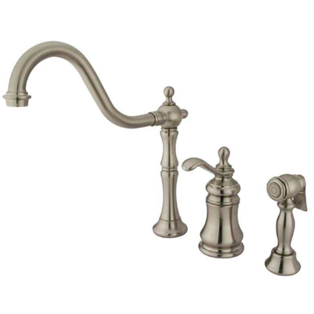 High Quality Kitchen Faucet Antique Brass With Sprayer