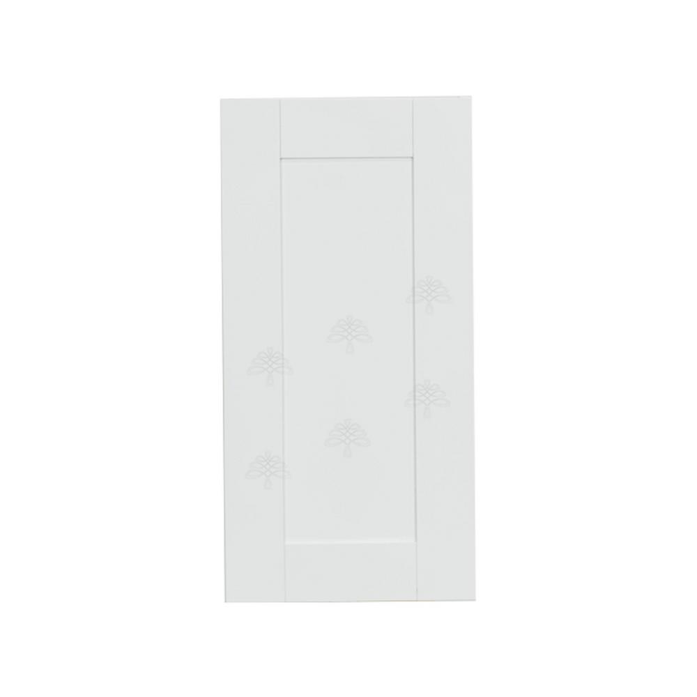Anchester Assembled 12x36x12 in. 1 Door Wall Cabinet with 2 Shelves