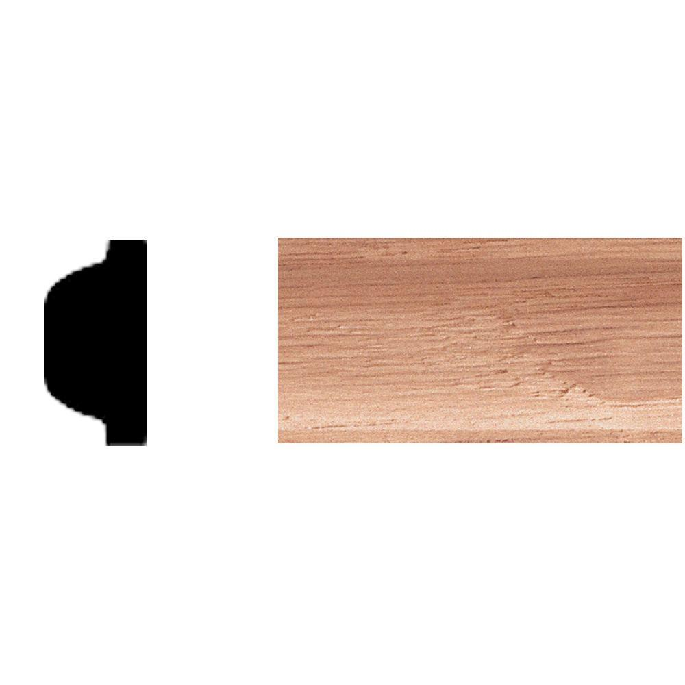 House Of Fara 3/8 In. X 3/4 In. X 8 Ft. Oak Shelf Strip