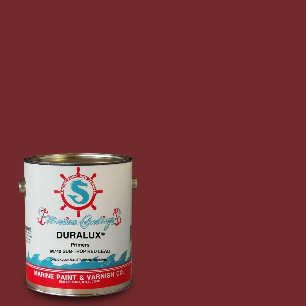 Duralux Marine Paint 1 Gal Sub Trop Red Primer