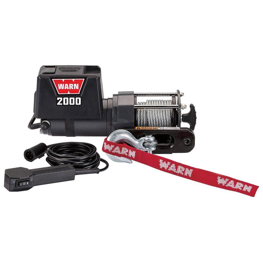 Warn 2000 Dc Lightduty Trailer Loading Utility Winch92000 The. Warn 2000 Dc Lightduty Trailer Loading Utility Winch92000 The Home Depot. ATV. Warn 2000 Lb ATV Winch Wiring At Scoala.co