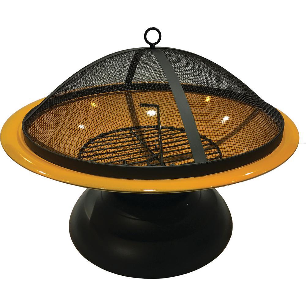 Fire Bowl Vesta Orange