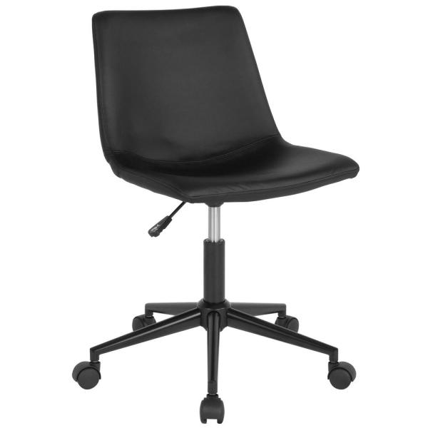 Flash Furniture Black Leather Office/Desk Chair CGA-DS-231690-BL-HD