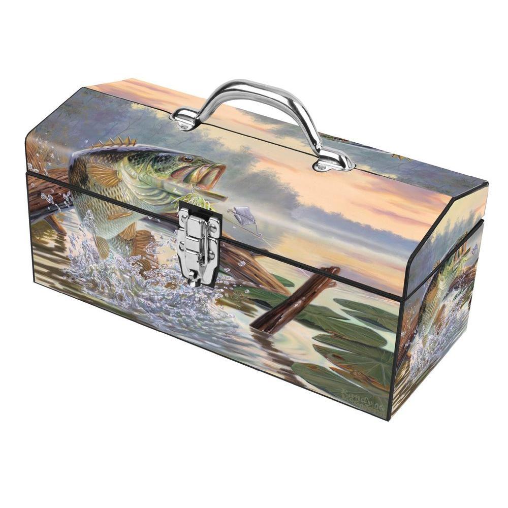Sainty International 16 in. Buzz Off Dual Latch Art Tool Box