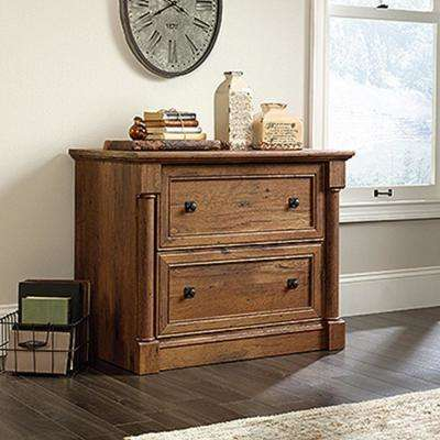 Palladia Collection Vintage Oak 2-Drawer Lateral File Cabinet
