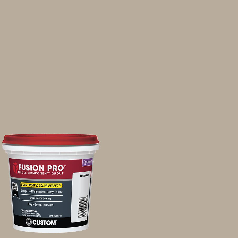 Fusion Pro #386 Oyster Gray 1 qt. Single Component Grout
