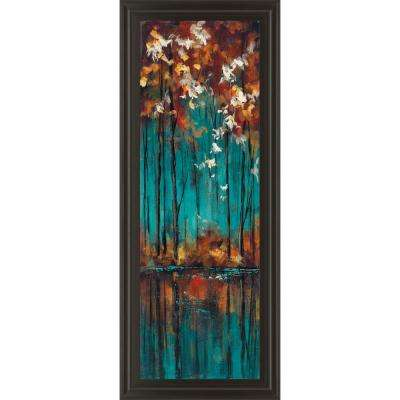 "18 in. x 42 in. ""The Mirror II"" by Luis Solis Framed Printed Wall Art"
