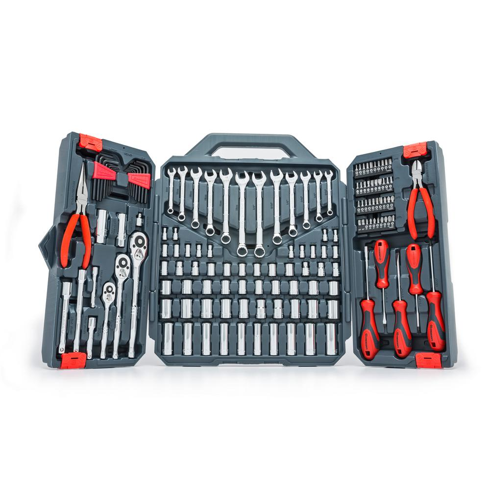 1/4 in. 3/8 in. and 1/2 in. Drive Mechanics Tool Set