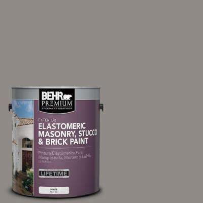 1 gal. #MS-85 Twilight Falls Elastomeric Masonry, Stucco and Brick Paint
