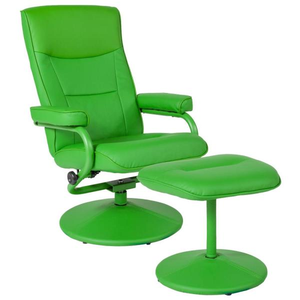 Flash Furniture Citrus Green Vinyl Recliner CGA-BT-239400-CI-HD