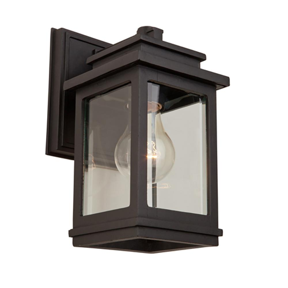 ARTCRAFT 1-Light Oil Rubbed Bronze Outdoor Wall Mount Sconce