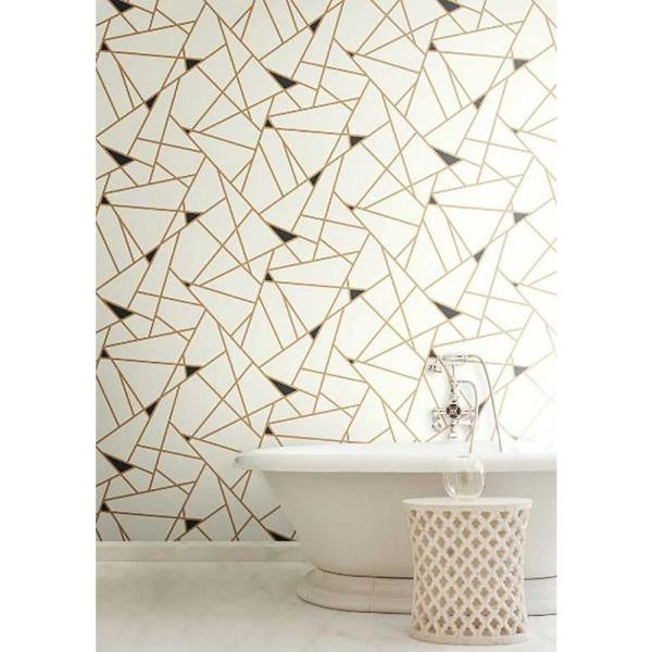 York Wallcoverings Risky Business 2 RY2703 Prismatic Removable Wallpaper