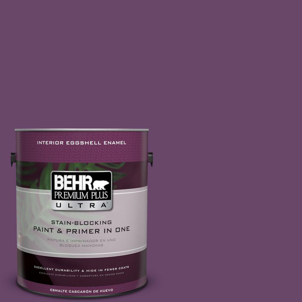 BEHR Premium Plus Ultra 1-gal. #P100-7 Sultana Eggshell Enamel Interior Paint
