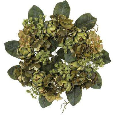 18 in. Artichoke Wreath