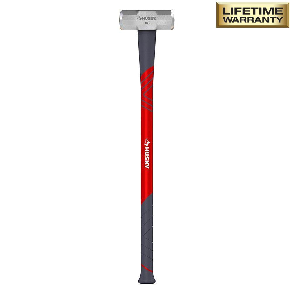 8 lb. Sledge Hammer with 34 in. Fiberglass Handle