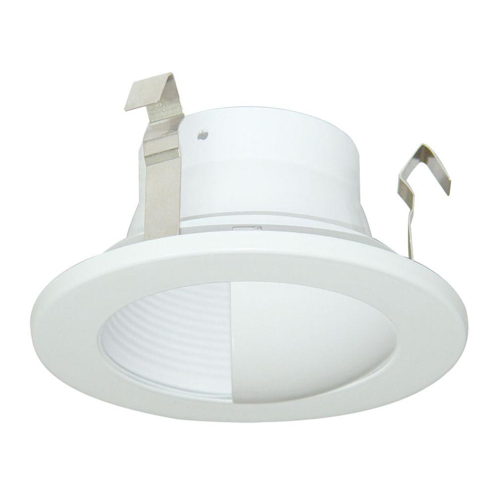Design House 3 in. Recessed Lighting White Baffle with Wall Wash Trim - DISCONTINUED