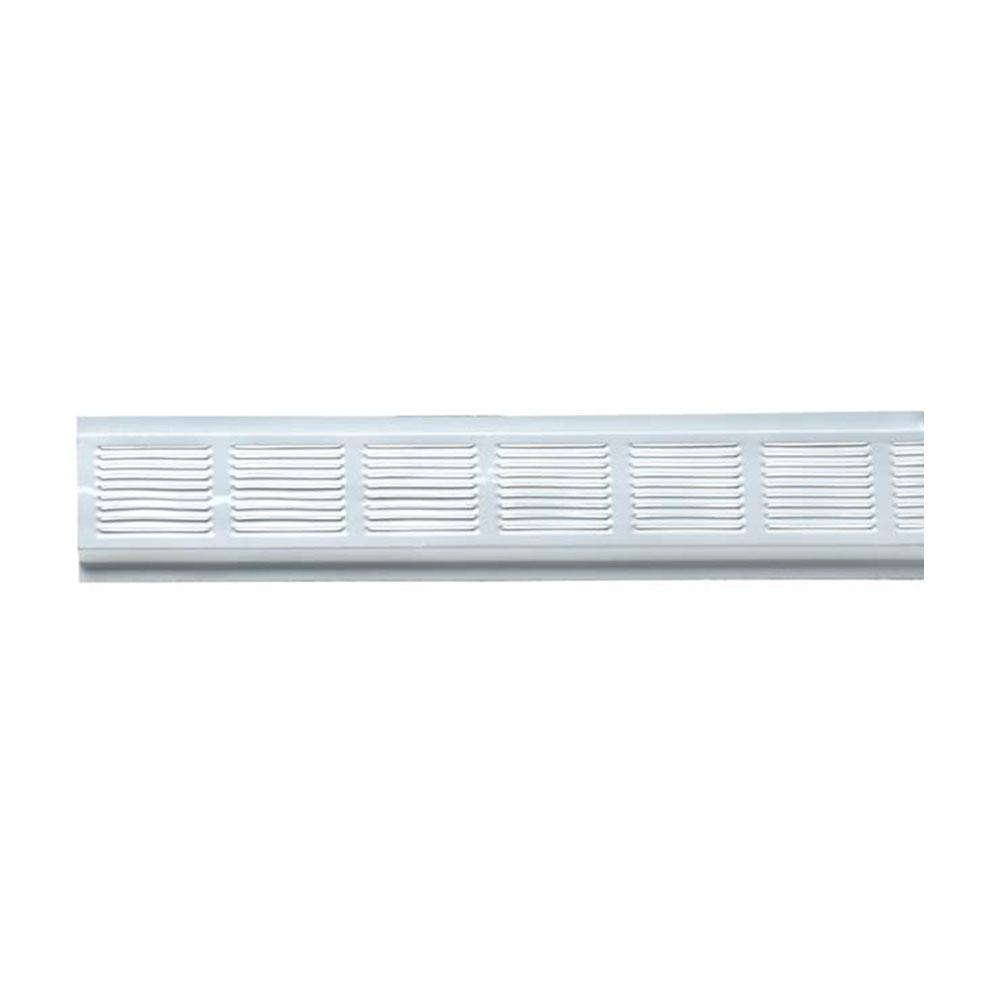 8 Ft Aluminum Continuous Eave Vent In White 84302 The
