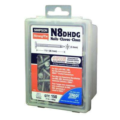 Strong-Drive 8d x 1-1/2 in. SCN Smooth-Shank Connector Nail (1 lb.)