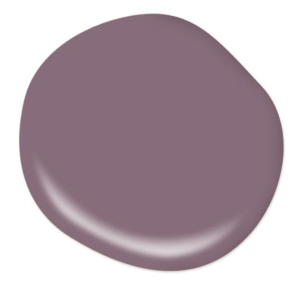 Reviews For Behr Premium Plus 5 Gal S110 6 Plum Royale Eggshell Enamel Low Odor Interior Paint And Primer In One 240005 The Home Depot
